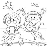 coloring pages swimming in a lake | Drunk Tequila worm stock vector. Illustration of cinco ...
