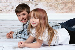 Boy and Girl together Stock Image