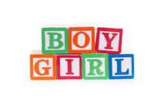 Boy/Girl Stock Image