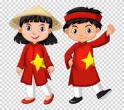 Boy and girl from Vietnam Royalty Free Stock Photography
