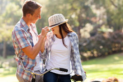 Boy and girlfriend Stock Image