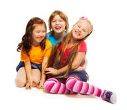 Boy and girls Royalty Free Stock Photos