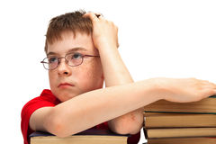 Boy with glasses Royalty Free Stock Photography