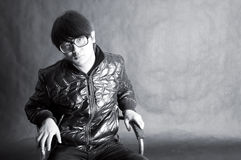 Boy with glasses Stock Images