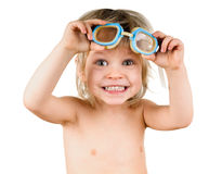 Boy in glasses Stock Photo
