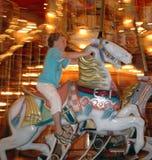 boy go merry round Στοκ φωτογραφία με δικαίωμα ελεύθερης χρήσης