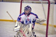 Boy goalkeeper Stock Photos