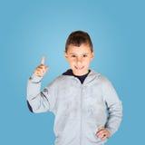 Boy with good idea Royalty Free Stock Photos