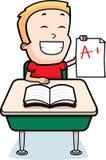 Boy Grades Royalty Free Stock Image