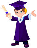 Boy Graduates Stock Photos