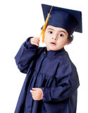 Boy graduating Stock Image