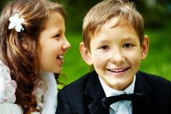 Boy groom Stock Images