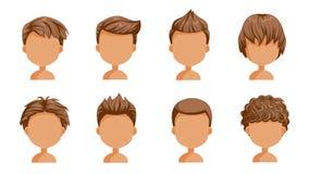 Free Boy Hair Rear View Stock Image - 115024571