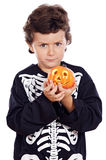 Boy in halloween Royalty Free Stock Photo