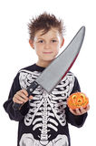Boy in halloween Royalty Free Stock Photos
