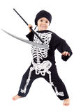 Boy in halloween Stock Photography