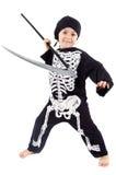 Boy in halloween Stock Photography