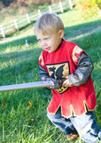 Boy at Halloween Royalty Free Stock Photography