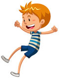 Boy with happy face Royalty Free Stock Image