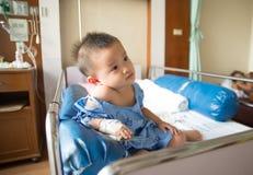 A boy has got sick. Royalty Free Stock Photo