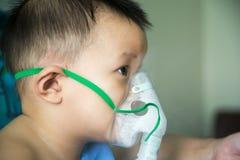A boy has got sick. Stock Images