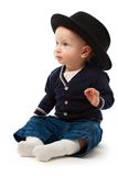 Boy with hat Stock Image