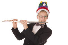 Boy in a hat Elf Royalty Free Stock Images