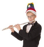 Boy in a hat Elf Royalty Free Stock Photo