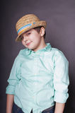Boy in a hat Royalty Free Stock Images