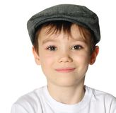 Boy with a hat Royalty Free Stock Photos