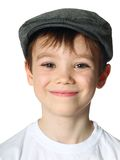 Boy with a hat Stock Image