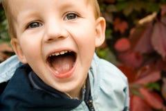 Boy having fun Stock Image