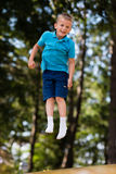 Boy having fun at playground Royalty Free Stock Photography