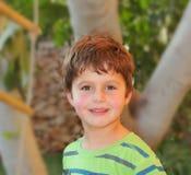 Boy having fun smiling Royalty Free Stock Photos