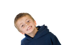 Boy with healthy teeth Royalty Free Stock Photo