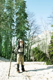 Boy in hike Royalty Free Stock Photography