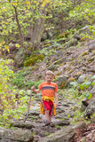 Boy hiking Royalty Free Stock Photos