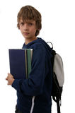 Boy holding Books Royalty Free Stock Image
