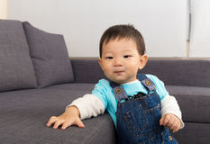 Boy at home Royalty Free Stock Photo