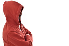 Boy with hoodies Stock Photography