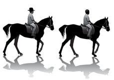 Boy on horse Royalty Free Stock Image