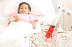 Boy in hospital Royalty Free Stock Photo