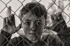 Boy, Hungry, Sad Royalty Free Stock Image