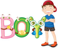 Boy illustration Stock Photo