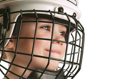Free Boy In Hockey Helmet Stock Photos - 19648233