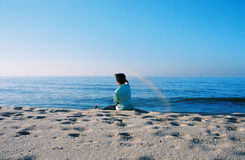 Free Boy In The Beach Stock Images - 3374314