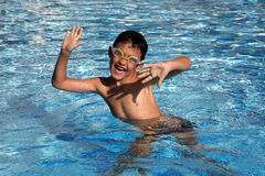 Free Boy In The Pool Stock Photos - 17792733
