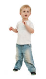 Boy isolated Stock Photo