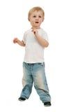 Boy Isolated Stock Photo