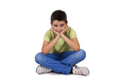 Boy isolated Royalty Free Stock Images